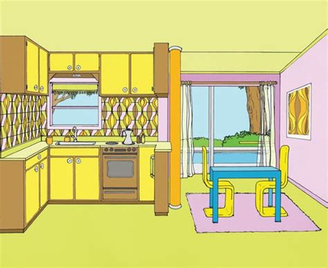 kitchen cartoon kitchen room cartoon