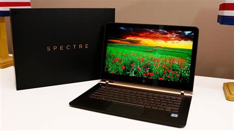 Intel Metro Worlds Thinnest Laptop by Hp Spectre World S Thinnest Laptop Intel I7 Powerful