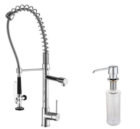 industrial kitchen faucets kraus kpf 1602 ksd 30ch chrome commercial style pot filler