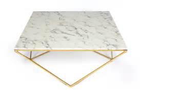 table basse marbre design heroine