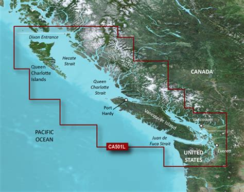 us marine detail map g2 update card bluechart g2 vision western canada on microsd vancouver