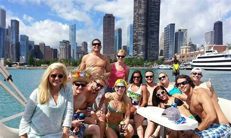 groupon chicago party boat lake michigan river cruise island party boat groupon
