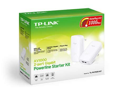 powerline 2 porte kit powerline 1gbps 2 porte 1gbps tp link