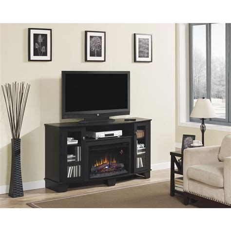 Fireplace Tv Stand Home Depot by Home Decorators Collection Grand 59 In Media