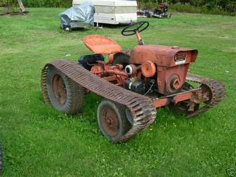 Lawn Garden Power King Tractor Vintage Lawn Mowers