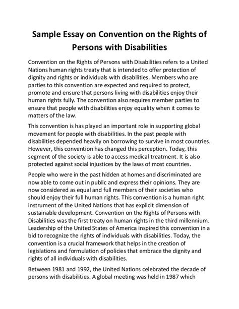 Disabilty Essays by Disability Essay Disability Essay Disability Essay Ap