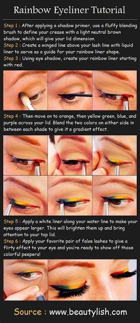 tutorial eyeliner stencil 15 easy hacks for perfect eyeliner stencils cat eyes