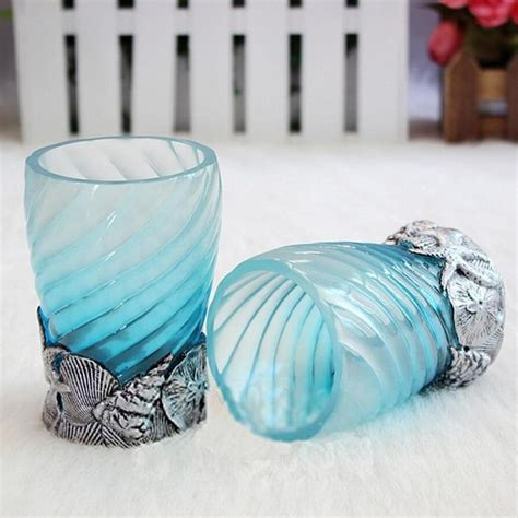ocean blue bathroom accessories bathroom accessories ocean blue bath sets resin accessory