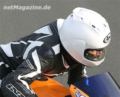 Motorrad Magazine Helmet Test by Netmagazine Motorrad Schutzhelm Arai Rx 7 Gp