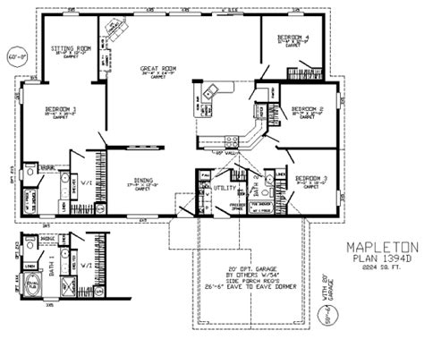 fuqua homes floor plans fuqua homes floor plans fuqua modular home floor plans