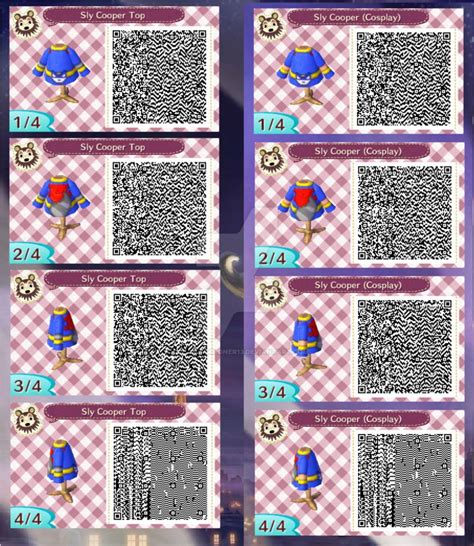 best sly cooper sly cooper top qr code by oceansummoner13 on deviantart