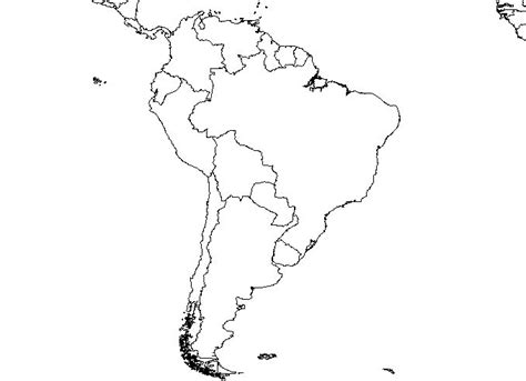 south america map outline south america blank map free images at clker