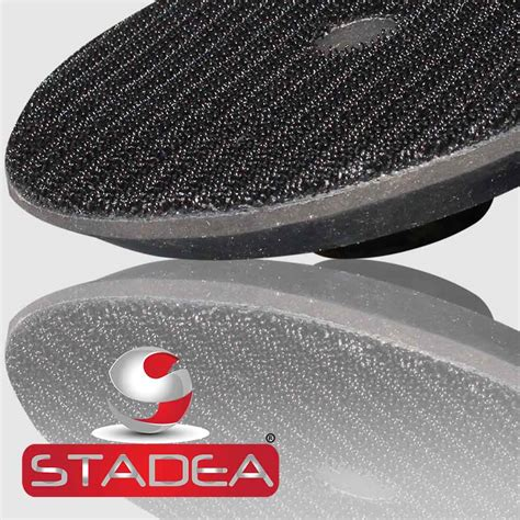 Velcro Pad stadea rubber velcro hook and loop backing pads series
