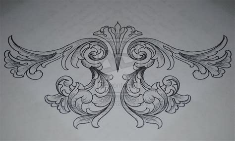 filigree heart tattoo designs the gallery for gt filigree pattern