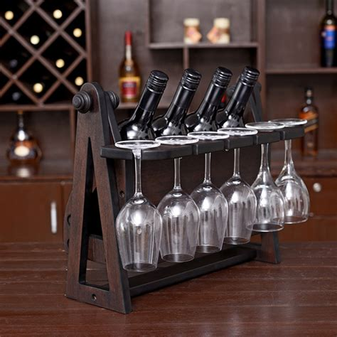 decorative wine racks for home 20 27day delivery creative 46x25x30cm antique wood wine