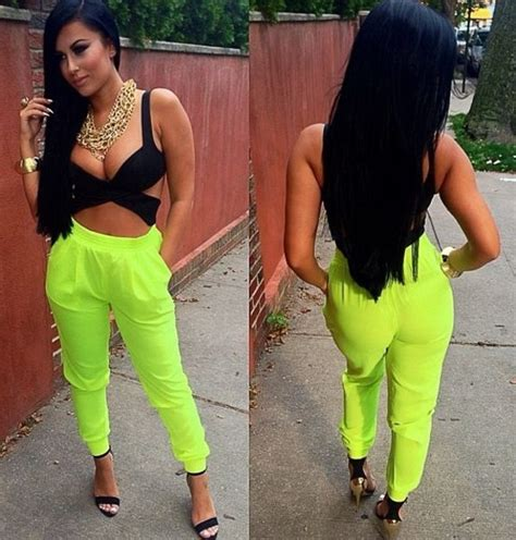 Black Party Top   Black Fitted Crop Top with   UsTrendy