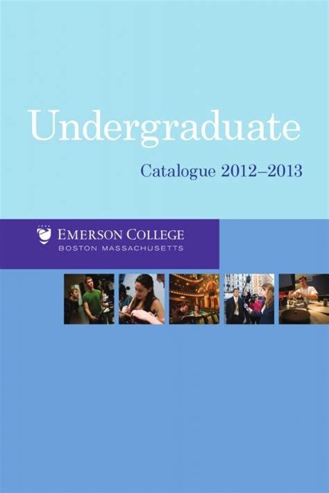 Emerson College Calendar Emerson College Academic Calendar Free Calendar Template
