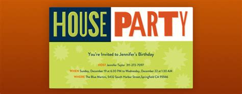 watch house party online free house party free online invitations