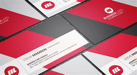 free modern diagonal background business card template