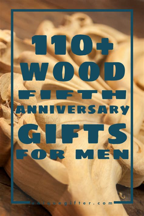 110 wooden 5th anniversary gifts for unique gifter