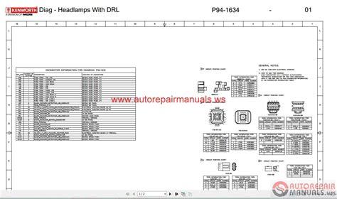 kenworth truck service manual owner manual diagram