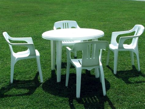 plastic outdoor white plastic outdoor table and chairs plastic patio