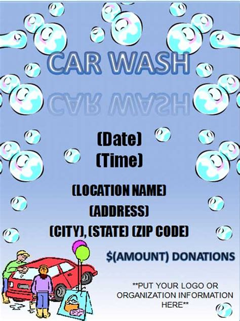 Download Free Advertisement Flyer Templates Car Wash Flyer Template Free