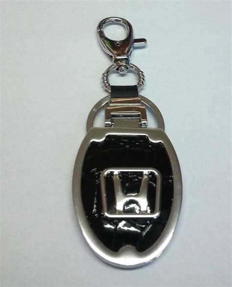 Honda Car Key Chains Wholesale - leatheite honda car logo keychain at best prices in