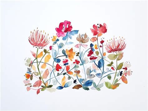 watercolor tattoo wildflowers images for wildflower watercolor tattoos