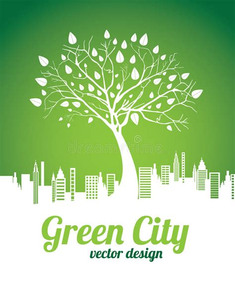 go green city background stock vector image of media green city stock vector illustration of organic light