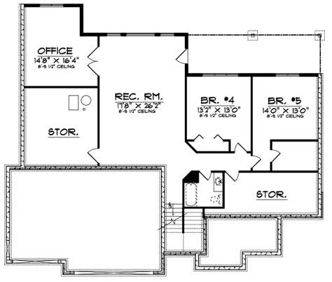 section 1059 plans traditional house plan 5 bedrooms 3 bath 3361 sq ft