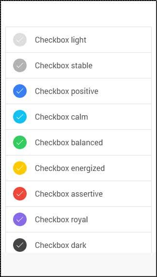 ionic checkbox tutorial ionic checkbox