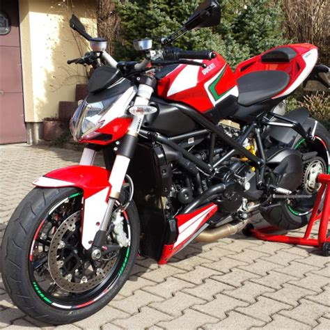 Ducati Streetfighter Aufkleber by 4moto Shop Ducati Streetfighter 848 Ab 2014 Tricolore