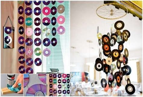 Home Decor Using Recycled Materials 5 Super Creative Ideas To Recycle Old Cds And Dvds