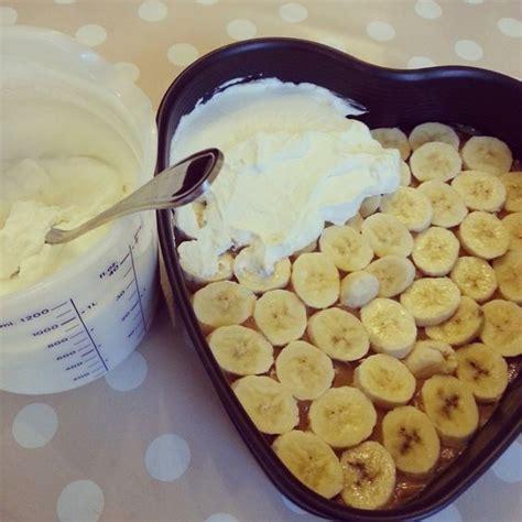banoffee kuchen banoffee tart bananen toffee kuchen ohne backen backen