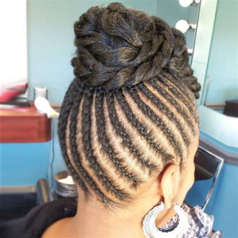 Silky Twist Hairstyles by Flat Twists Hairstyles American Hairstyles Trend