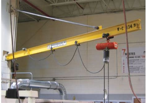 garage jib crane wall mounted cantilever jib crane for any height i david