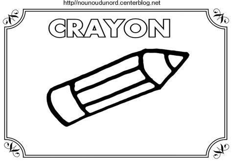 Coloriage Ecole Crayon Cartable