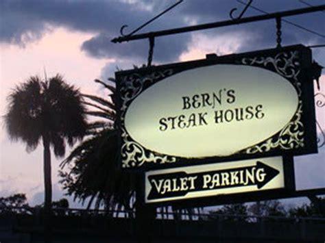 berns steak house berns steak house shop local pinterest