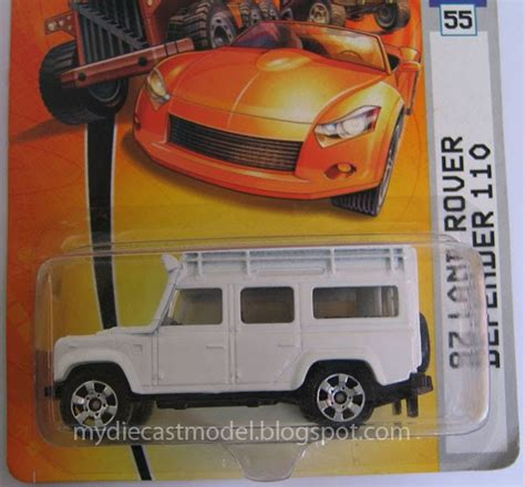 Sticker Die Cast Land Rover V 2 97 land rover defender 110 white paint models of diecast cars