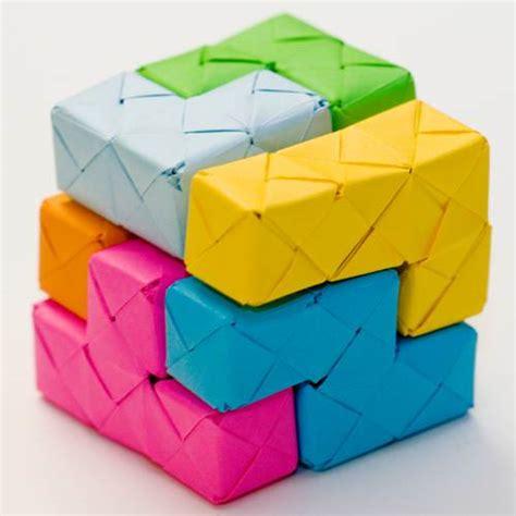 Origami Blocks - tetris origami blocks gearfuse