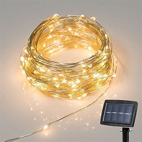 buy starry string lights new version 150led 72feet solar powered string lights