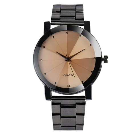 Gembok Stainless Casal 40 Mm dropshipping brand watches 2017 fashion casual stainless 40mm geneva relogio