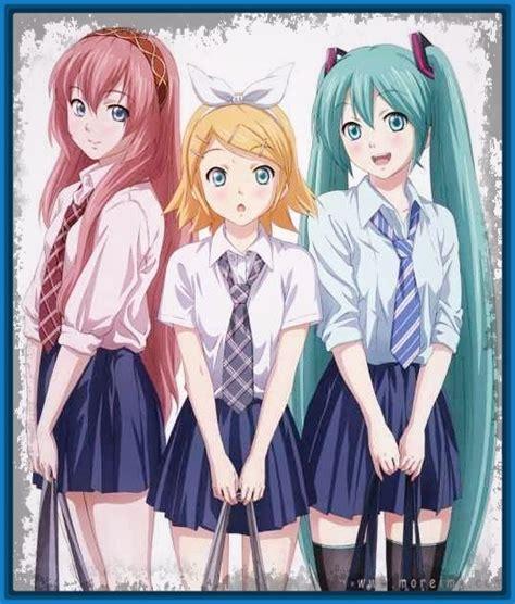 imagenes de anime kawaii de amigas mejores amigas de anime archivos imagenes de anime