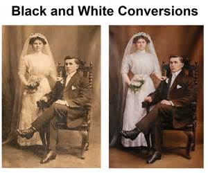 convert black and white to color black white photo color conversion painting