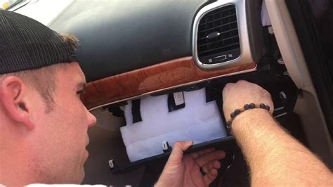 jeep wk grand cherokee  blend door fix youtube