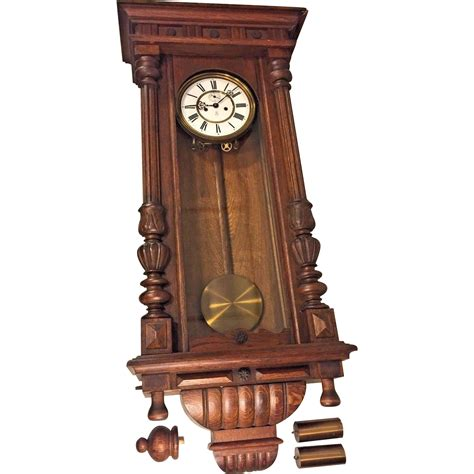 gustav becker antique gustav becker vienna regulator wall clock 1924 2