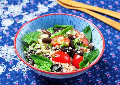 whole grains eat right ontario black bean couscous salad unlock food