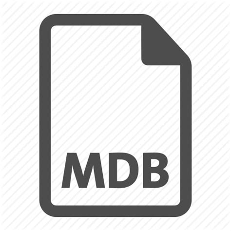 format file mdb document extension file format mdb icon icon search