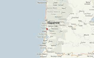map day oregon florence oregon location guide